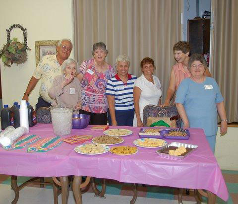 This photo was taken at the tea party for the residents of Wharton Nursing Home in Pleasant Hill. (Photo by Don Beyer)