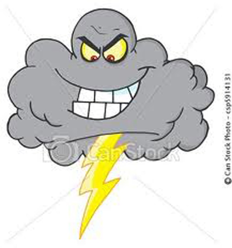Call him Mr. Gray or Black Cloud — but he's wearing out ...