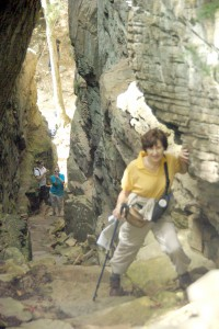 Sarah Southall at Stone Door — a Fairfield Glade Hiking Group destination this Friday.