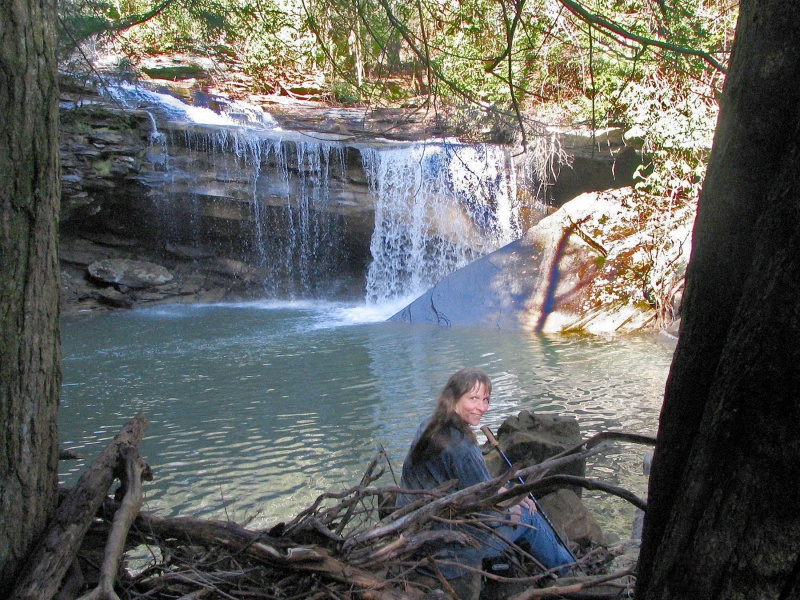 Immodium Falls, above, will be the destination on Jan. 19 for the Tennesses Trails group.