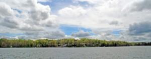 lake dartmoor panoramic