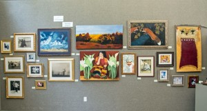 Jessica's Schatz's exhibition as Artist of the Month can be seen at the Art Guild on Lakeview Rd.