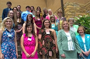These 19 students received over $23,000 in scholarships from the Fairfield Glade Ladies Club recently.