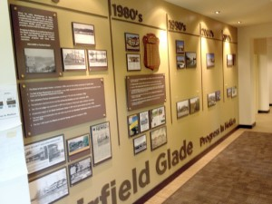 A view of the Wall of Fame offers a glimpse into the past and a trip down memory lane.