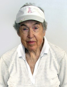 June Frazier was late for the 90-Plus Club party at the Fairfield Glade Wellness Complex because she was playing a round of golf.