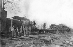 The Cumberland Northern Railroad went right through Fairfield Glade in the early 1900s when the need for lumber was a huge business