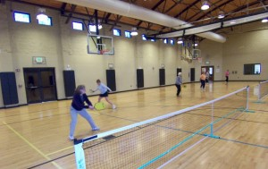 "The courts at the Fairfield Glade Community Center always seem to be full with Pickleball players and groups taking on each other with some aggressive and yet, sportsmanlike competition that helps ones of all age groups to stay active and get their ""game on"" at the same time."