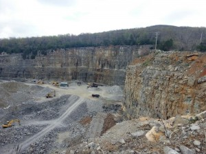 An abandoned quarry in Crab Orchard, once filled, would supply 300 million gallons of water and would solve any future water shortage problems the Glade might encounter.  He knew that Daddy's Creek had a significant flow of water, year round.